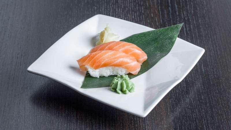 Salmon Nigiri Sushi Waka