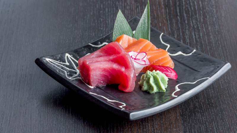 Tuna Salmon Sashimi