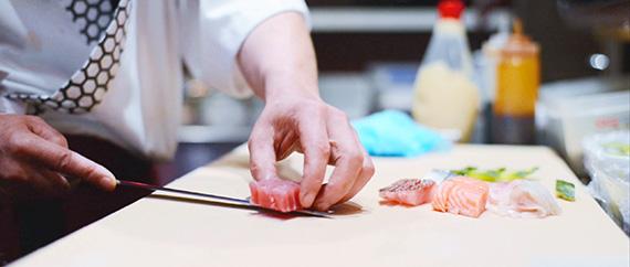 Fresh Handmade sushi