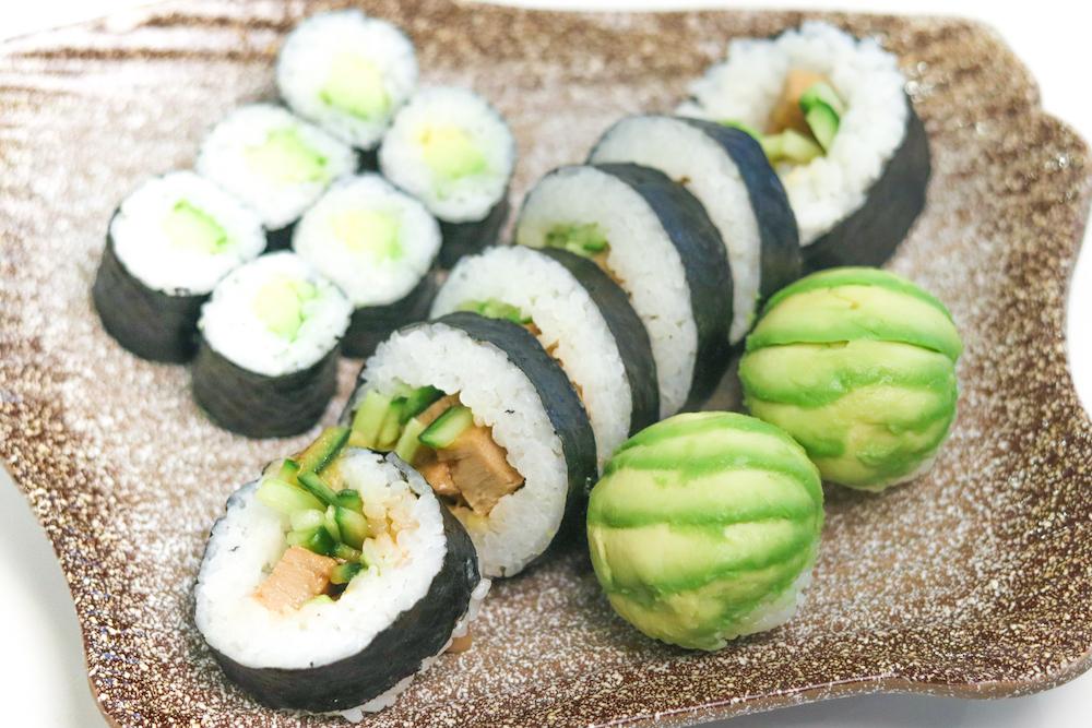 Vegan Sushi Platter 2